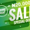 20000 naira website promo